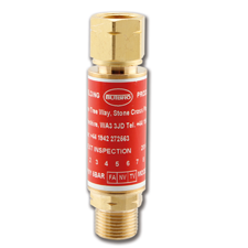 Javac Flashback Arrestor Fuel Gas