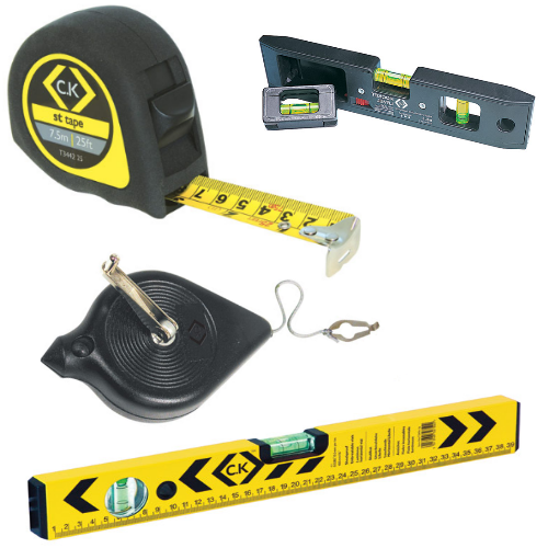 Measuring, Levelling & Marking