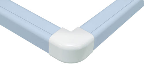 Plastic Trunking External Elbow 110mm x 75mm